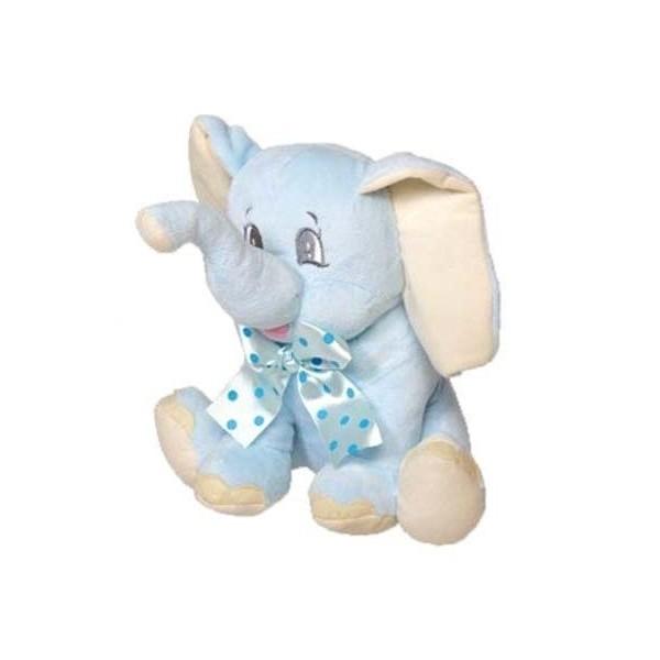 Detalle de Bautizo peluche elefante azul