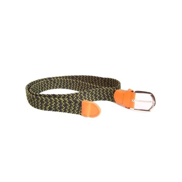 Cinturón elástico bicolor para recuerdo bautizo