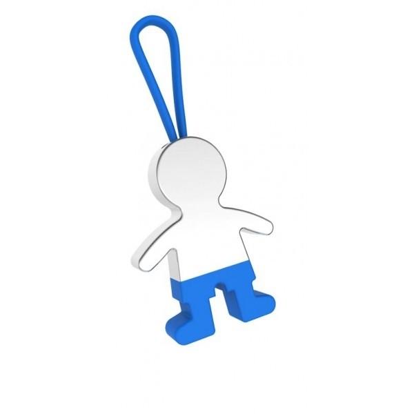 Detalle de Bautizo llavero nene pantalon azul