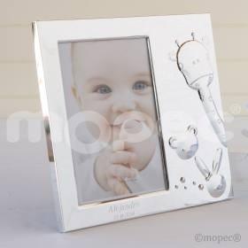 Recuerdo para Bautizo portafoto infantil