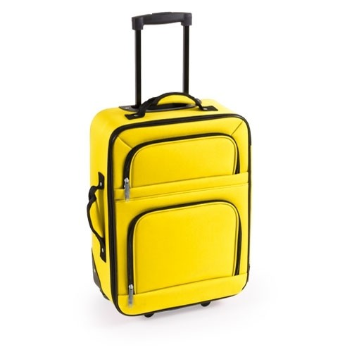 Detalle de Bautizo Trolley Versity amarillo