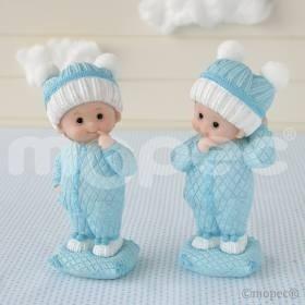 Figura tarta bautizo bebe nene