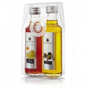 Detalle bautizo aceite de oliva y vinagre