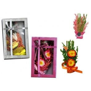 Detalle bautizo ambientador de flores con iman