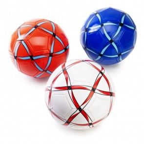 Detalle bautizo balón fútbol rayado