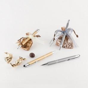 Detalle bautizo bolígrafo elegante puntero bolsa
