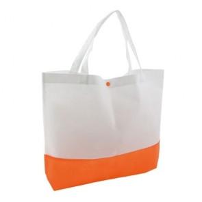 Detalle para Bautizo Bolsa Bagster Naranja/Blanco