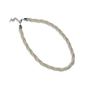 Detalle bautizo colgante triple perlas