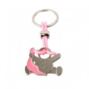 Detalle de Bautizo llavero bebe diver rosa