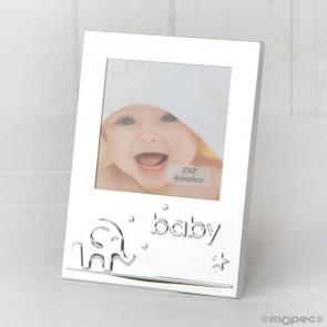 Recuerdo para Bautizo portafoto baby