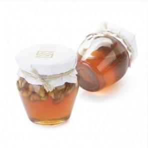 Detalle bautizo miel con nueces