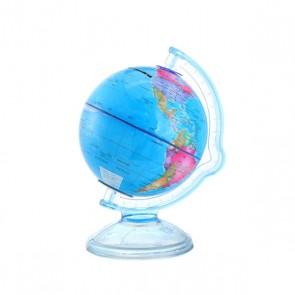 Hucha bola del mundo como recuerdo de bautizo
