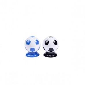 Detalle bautizo palillero en forma balon de futbol