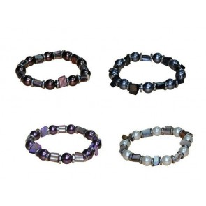 Detalle bautizo pulsera perlas color