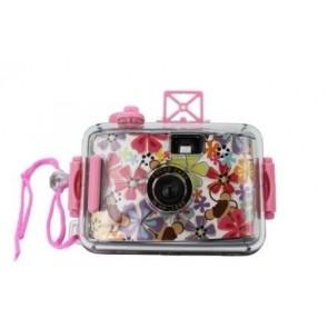 Detalle de Bautizo para niños cámara de fotos acuática happy girl