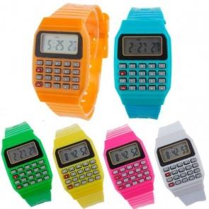 Detalle de Bautizo para niños reloj calculadora
