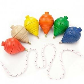 Detalle de Bautizo para niños peonza surtida de colores